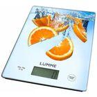 Весы кухонные Lumme  LU-1340, электронные, до 5 кг, апельсиновый фреш