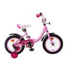 "Велосипед 14"" Graffiti Fashion Girl RUS, цвет розовый"