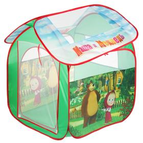 Игровая палатка «Маша и Медведь», в сумке