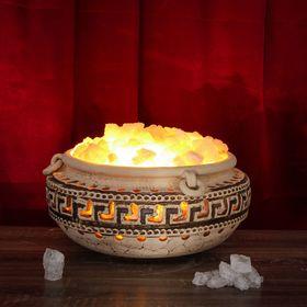 Соляная лампа 'Эковазон греческий' 35 кг, 42 см × 42 см × 26 см Ош