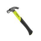 Молоток- гвоздодер 450 г Armero, ручка фиберглас, магнитный держатель для крепежа