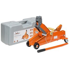 2.3t rolling jack in a case Lifting height 135-330 mm AJ-2.3F-350PK Airline