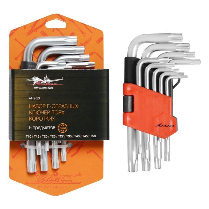 Набор Г-образных ключей TORX 9 предметов AT-9-23 Airline