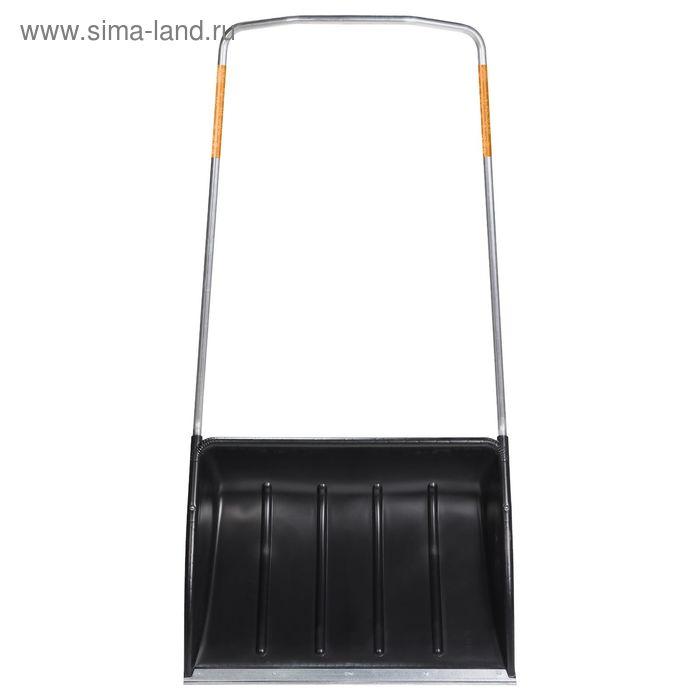 Движок пластиковый, ширина ковша 72 см, с металлической планкой