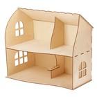 Домик кукольный деревянный