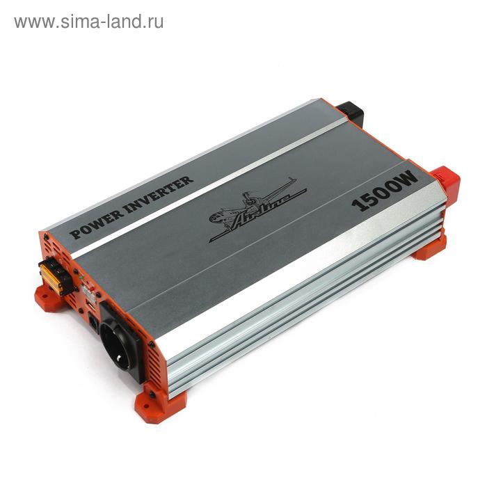 Инвертор 24В-220В, 1500 Вт Airline API-1500-10