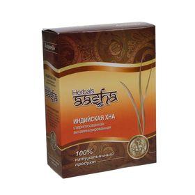 Хна стерилизованная витаминизированная Aasha Herbals, 80 г