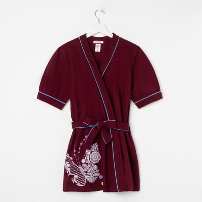 "Long jacket KAFTAN ""Lace"" R-R XS(42) 100% cotton"