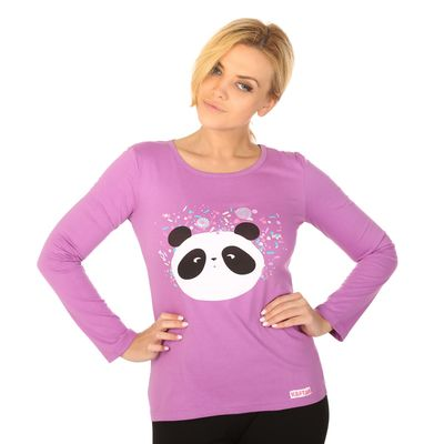 "Джемпер женский KAFTAN ""Панда"", размер 2XL(52), хлопок 100%"