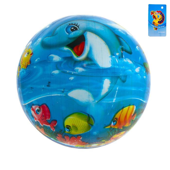 """Мяч детский """"Морской мир"""" 60 гр."""