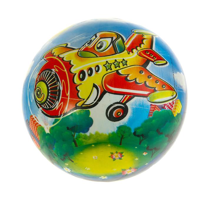 """Мяч детский """"Самолетик"""" 60 гр."""