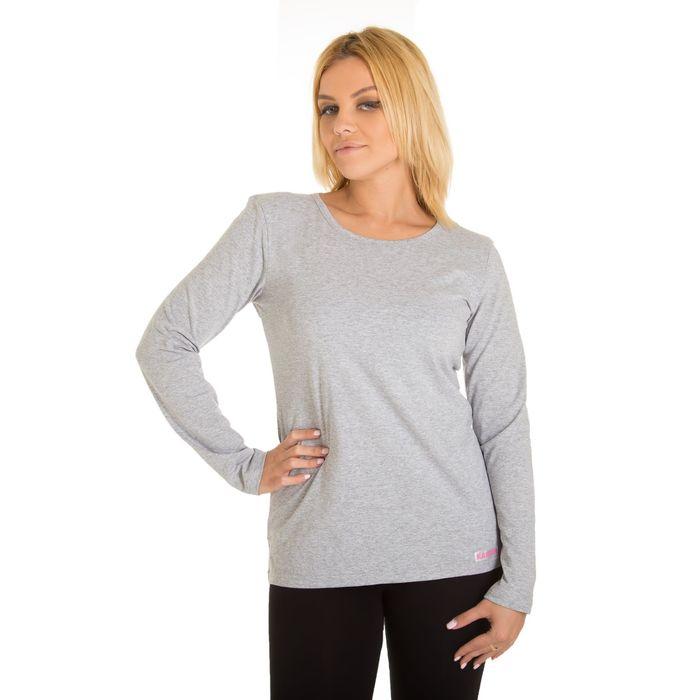 Джемпер женский KAFTAN basic, размер XS(42), цвет меланж, хлопок 100%