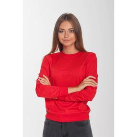 Толстовка женская KAFTAN basic, цвет красный, размер 2XL(52), хлопок 100%