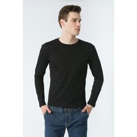 Джемпер мужской KAFTAN basic (М1), размер L(48), цвет чёрный, хлопок 100%