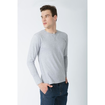 Джемпер мужской KAFTAN basic (М1), размер 3XL(54), цвет меланж, хлопок 100%