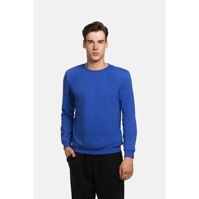 Джемпер мужской KAFTAN basic (М3), размер 3XL(54), цвет индиго, хлопок 100%