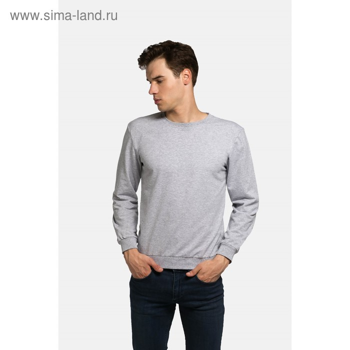Джемпер мужской KAFTAN basic (М3), размер XL(50), цвет меланж, хлопок 100%