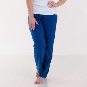 Брюки женские KAFTAN basic, цвет индиго, размер XS(42), хлопок 100%