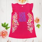 Платье для девочки, рост 158 см, цвет арбузный