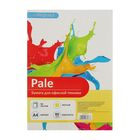 Бумага цветная А4, 50 листов Calligrata Pale, 80г/м2, жёлтая