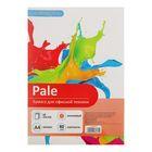 Бумага цветная А4, 50 листов Calligrata Pale, 80г/м2, оранжевая
