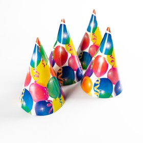 """The cap paper """"Holiday"""" balloons and streamers (set of 6 PCs)"""