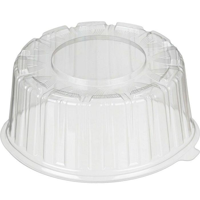Крышка к контейнеру Т-165КН, круглая, прозрачная, 18,5х18,5х6,95 см / 800 мл