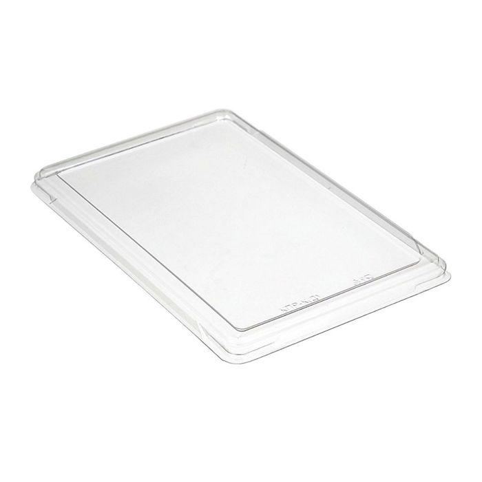 Крышка к контейнеру КПР-К, прямоугольная, прозрачная, 27,2х17,2х1,3 см