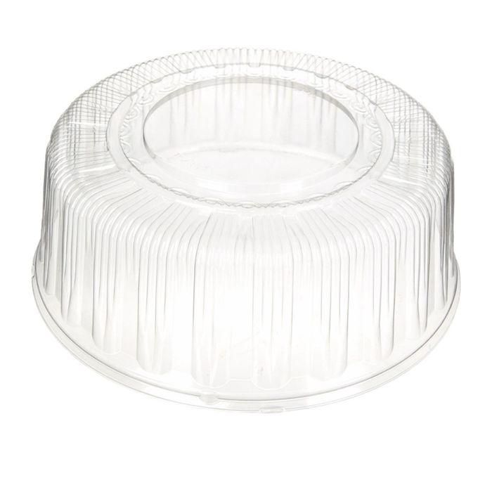 Крышка к контейнеру Т-289К, круглая, цвет прозрачный, размер 28,3 х 28,3 х 11 см, объём 2,5 л