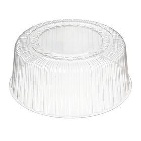 Крышка к контейнеру Т-265К, круглая, цвет прозрачный, размер 27,7 х 27,7 х 11 см, объём 2 л