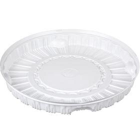 Контейнер для торта Т-280Д, круглый, цвет белый, размер 28,4 х 28,4 х 2,5 см