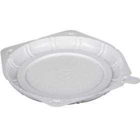 Контейнер для торта Т-226Д, круглый, цвет белый, размер 23 х 23 х 2 см