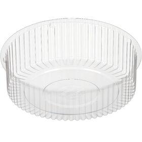 Контейнер для торта Т-185Д, круглый, прозрачный, 17,3х17,3х5,25 см / 500 мл