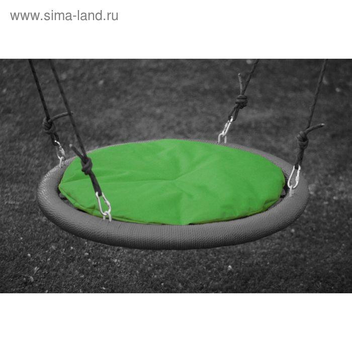 Подушка на качели 110 см, зелёная