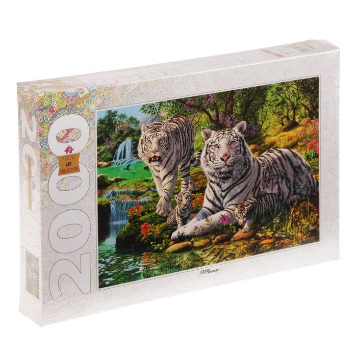"""Пазлы """"Сколько тигров?"""", 2000 элементов"""