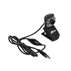 Веб-камера RITMIX RVC-017M 1.3 МП, 1600x1200, без драйверов, микрофон, черная