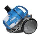 Пылесос BBK BV1506, 2000 Вт, мощность всасывания 320 Вт, 2.5 л, синий