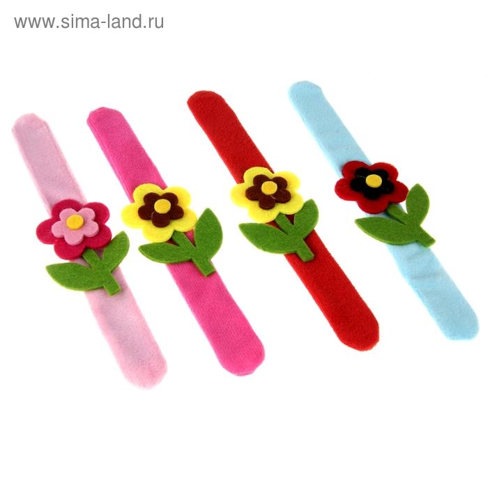 """Карнавальный браслет """"Цветок"""", цвета МИКС"""
