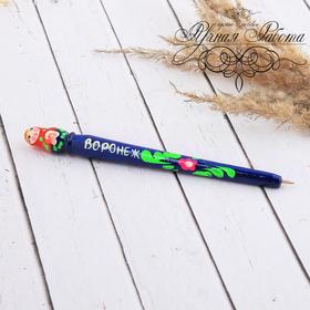 """Pen wood matryoshka """"Voronezh"""", 17 cm"""