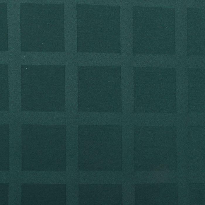 Ткань для столового белья с ГМО Геометрия ш.155, дл.10м, цв.зелёный, пл. 192 г/м2