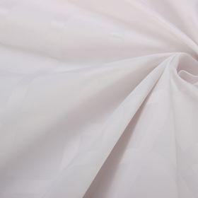 Ткань для столового белья с ГМО Геометрия ш.155, дл.10м, цв.белый, пл. 192 г/м2
