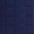 Ткань для столового белья с ГМО Геометрия ш.155, дл.10м, цв.синий, пл. 192 г/м2