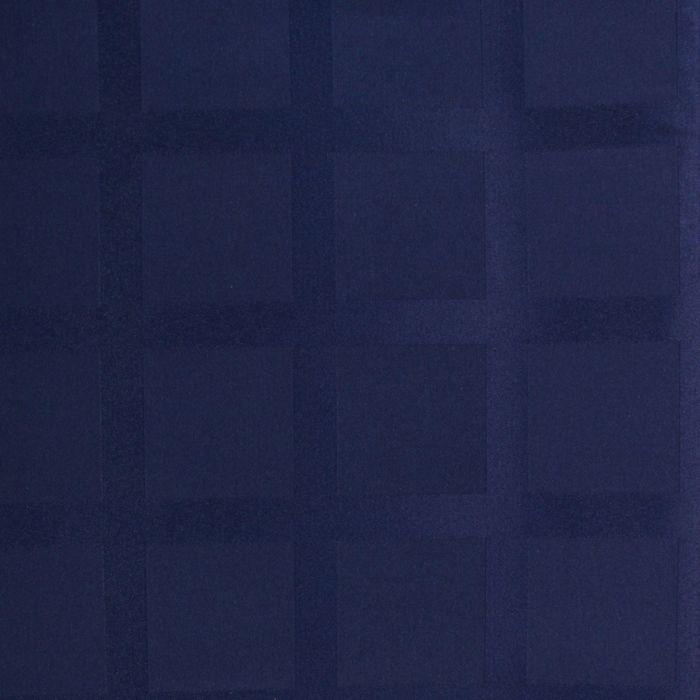 Ткань для столового белья с ГМО Геометрия ш.155, дл.10м, цв.синий, пл. 192 г/м2 - фото 481135515