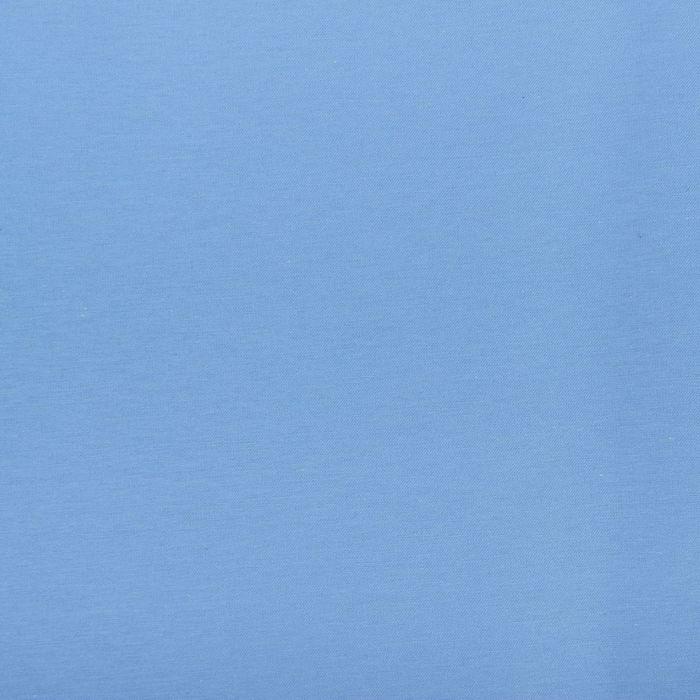 Ткань для столового белья с ГМО однотонная ш.155, дл.10м, цв.голубой, пл. 192 г/м2