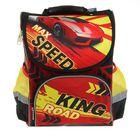 Ранец Стандарт Limpopo Premium box 35x28x16 см, эргономичная спинка Max Speed