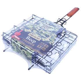 Решетка-гриль для овощей с антипригарным покрытием, Bеер , 63 x 31 x 7 cм