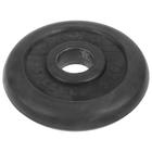 Диск d 51  5 кг TITAN-PROFY чёрный, ДТПЧ 51/5
