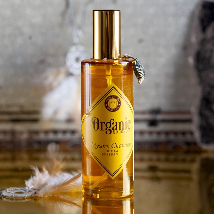 """Освежитель воздуха """"Organic"""" спрей 100 мл Mysore Sandal"""