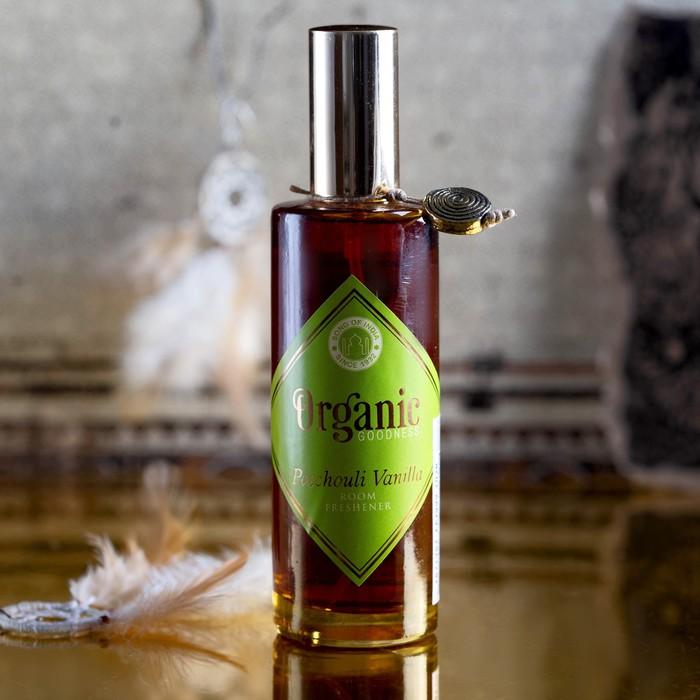 """Освежитель воздуха """"Organic"""" спрей 100 мл Vanilla Patchouli"""