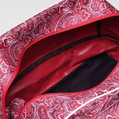 Саквояж ССД-01, 46*23*25, трансформер, 1 отд на молнии, н/карман, мороз на красном